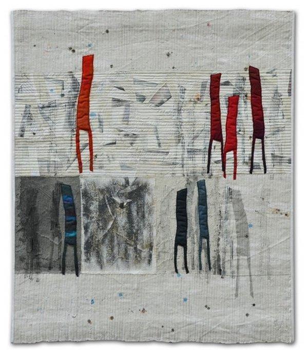 Mirjam Pet-Jacobs (Niederlande): Community 4 86 x 100 cm