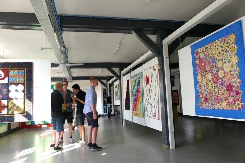 Blick in die Ausstellung Foto: Rebecca Roth, die es freundlicherweise zur Verfügung stellte