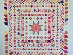 Quiltmanufaktur Medaillon Quilt Along - Quilttop finish