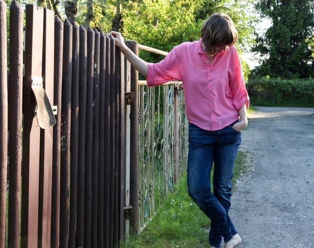 ralph pink lara shirt