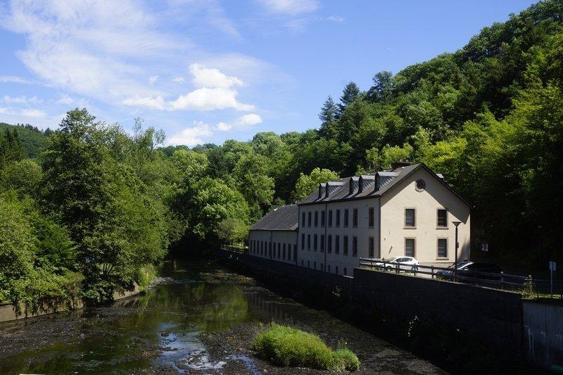 Alte Duchfabrik, Naturpark Öewersauer, Esch-Sauer (Luxemburg)
