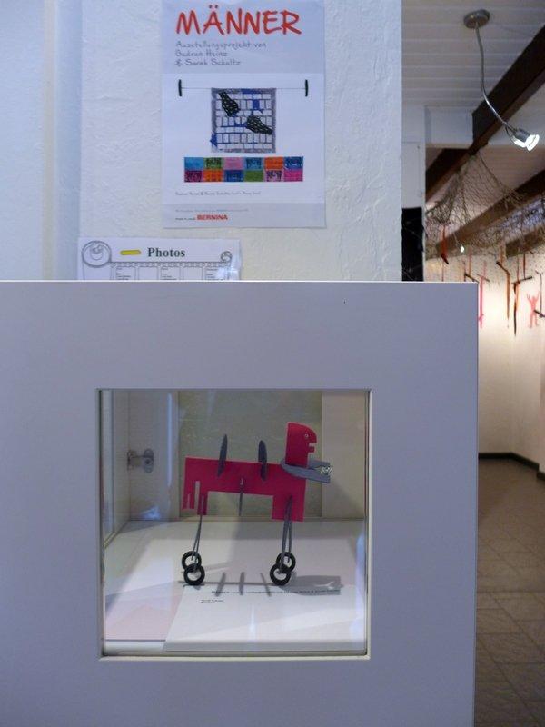 Sarah Schultz: Kentaur MÄNNER – Ausstellungsprojekt von Gudrun Heinz & Sarah Schultz