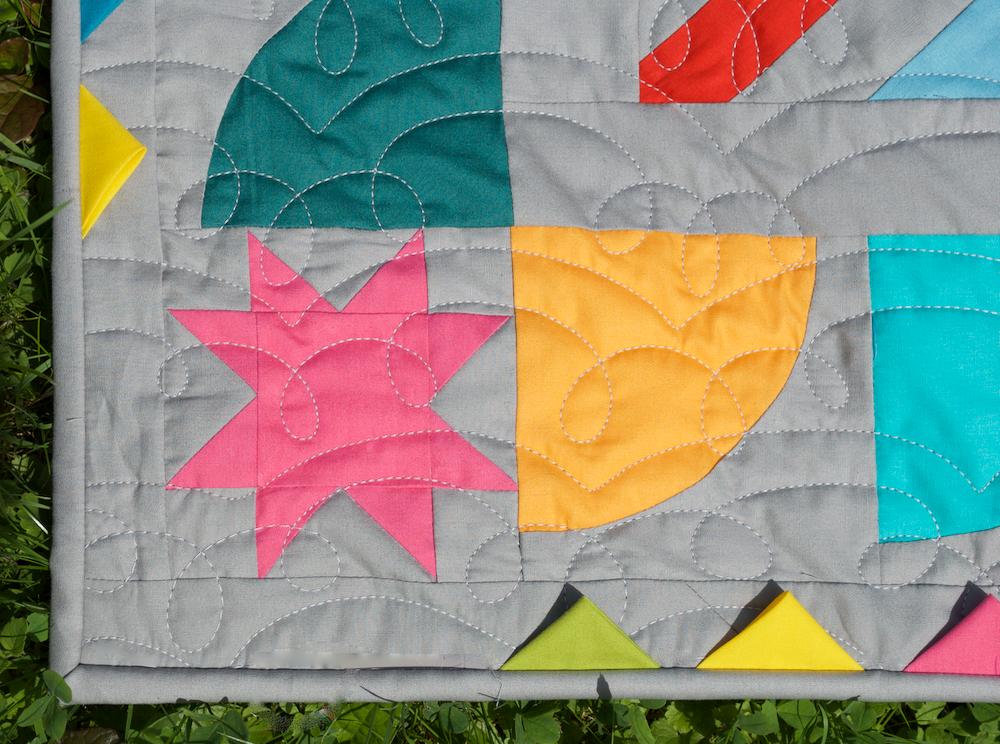 Detail-Medaillon-Quilt