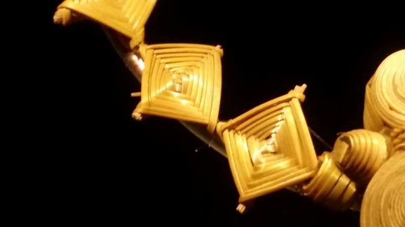 Geflochtenes Gold Foto freundlicherweise vom Museum zur Verfügung gestellt