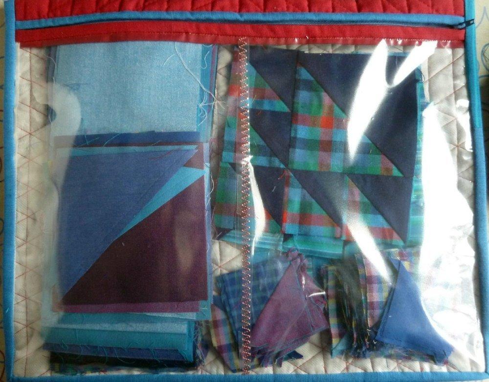 Projekttasche aus Hexies