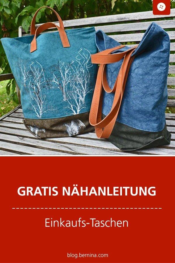 Kostenlose Nähanleitung: Einkaufs-Tasche nähen