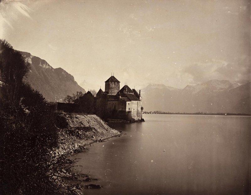 Adolphe Braun, Charles Braun, Schloss Chillon, um 1862, Pigmentdruck © Sammlung Christian Kempf, Colmar Foto freundlicherweise vom Museum zur Verfügung gestellt