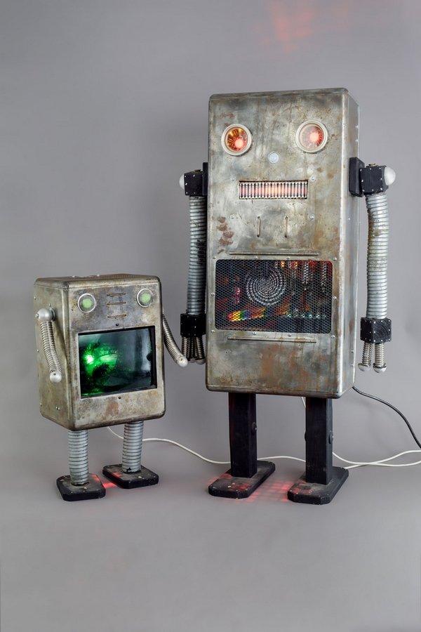 Justus Ehras: Roboter Dresden, 2014 © SKD, Foto: Claudia Jacquemin, freundlicherweise vom Museum zur Verfügung gestellt
