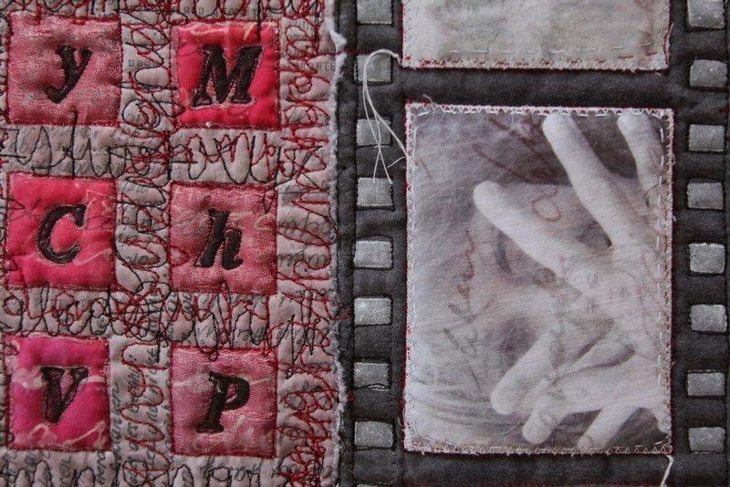 © Irmgard Moldaschl Foto des Details aus einer Arbeit freundlicherweise von der Künstlerin zur Verfügung gestellt