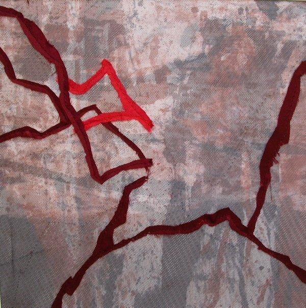 Ruth Ingold-Wöhrle: Herbstboden 1 Foto freundlicherweise von der Galerie zur Verfügung gestellt