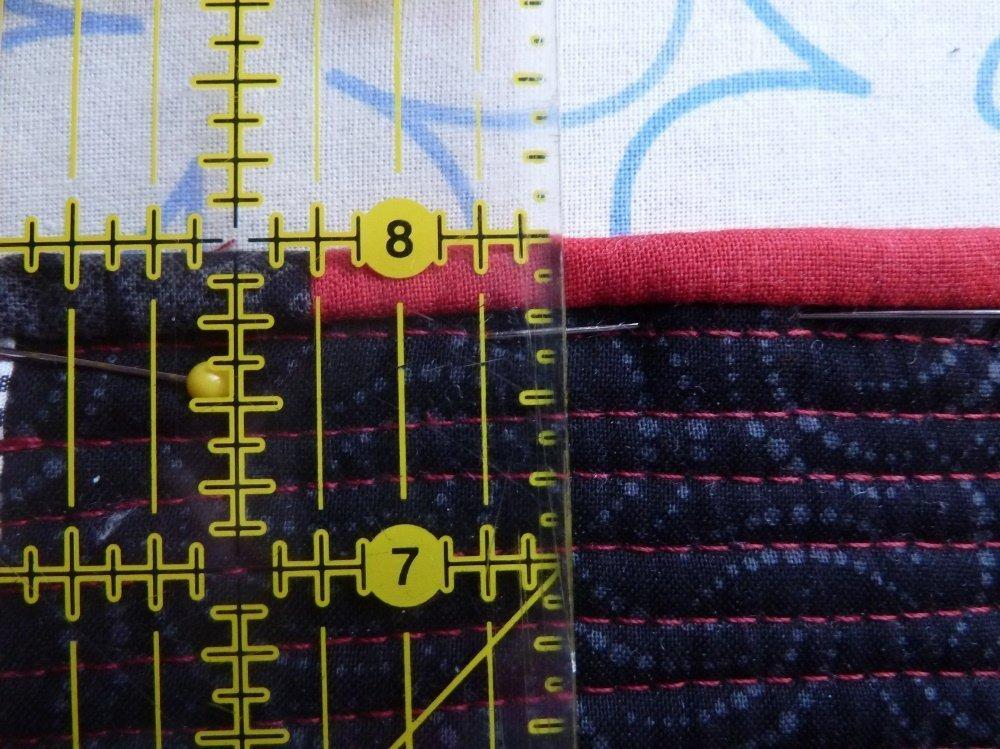 Nähanleitung für ein schmales Binding