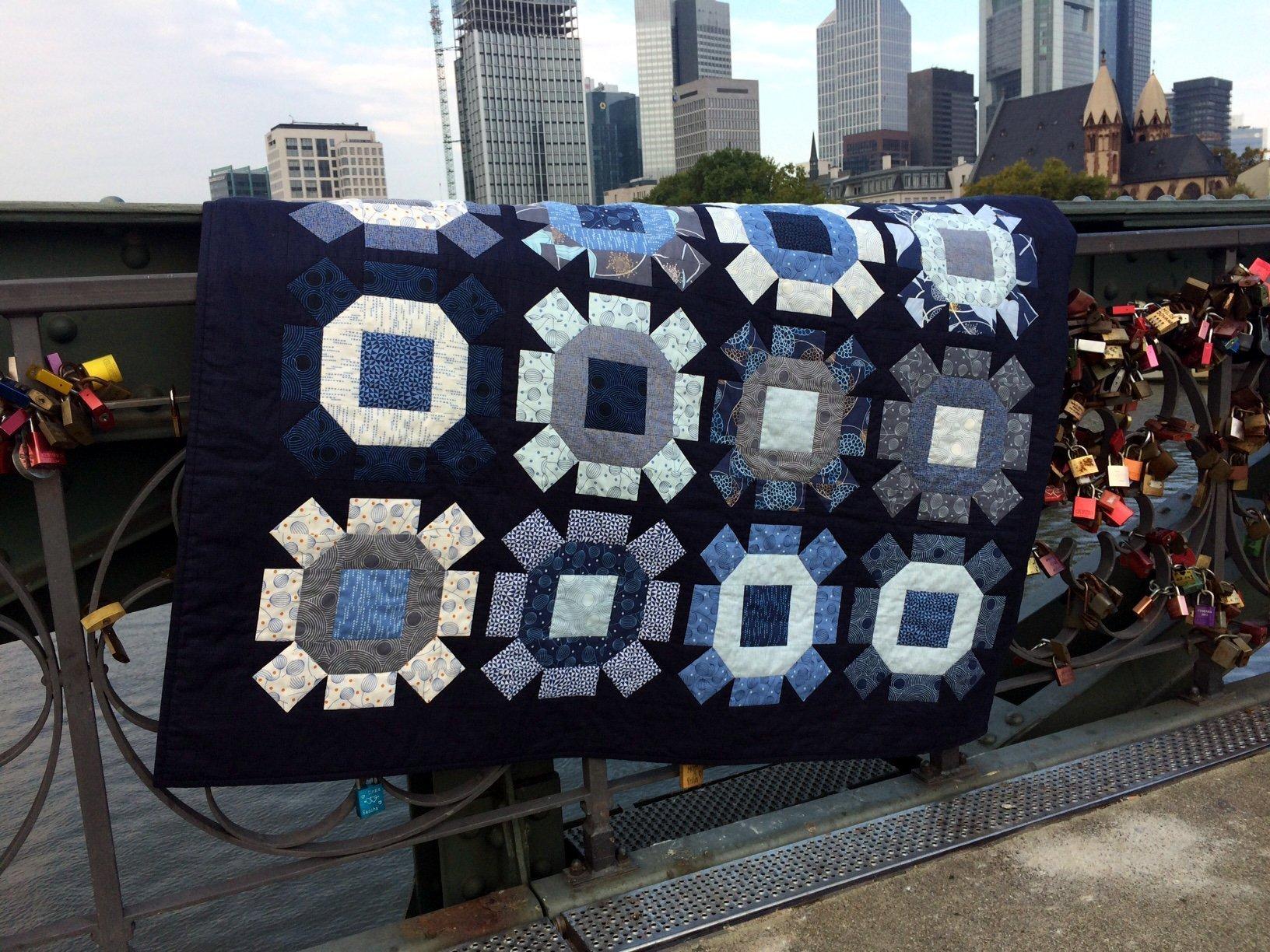 Fußboden Modern Quilt ~ Rolling stone quilt bernina