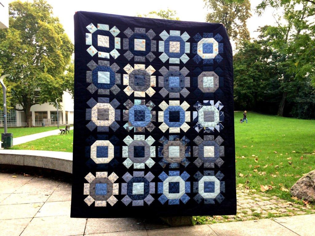 Quiltmanufaktur - Rolling Stone Quilt - Bernina Blog - Frankfurt Museum für angewandte Kunst - 2017