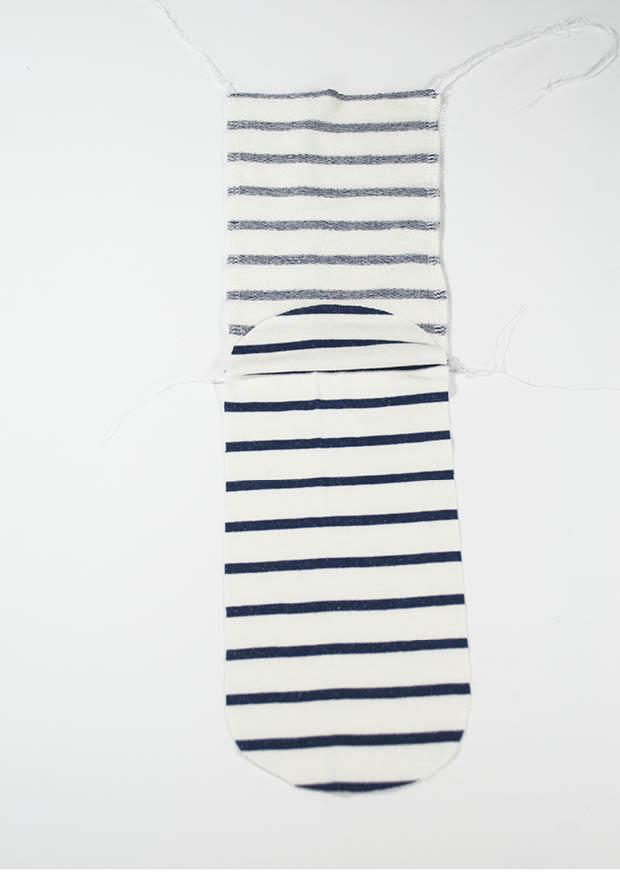 Socken nähen2