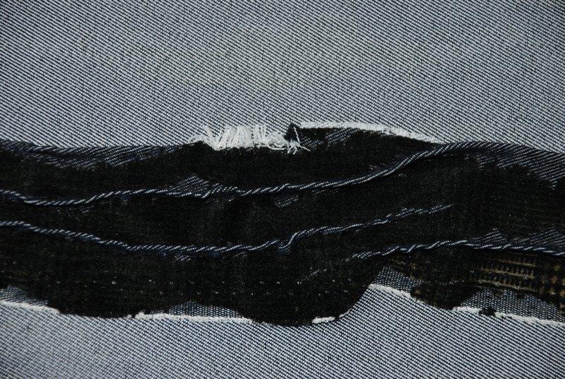 Nancy van Dijk: Hohe Wellen, Detail Foto freundlicherweise von der Galerie zur Verfügung gestellt