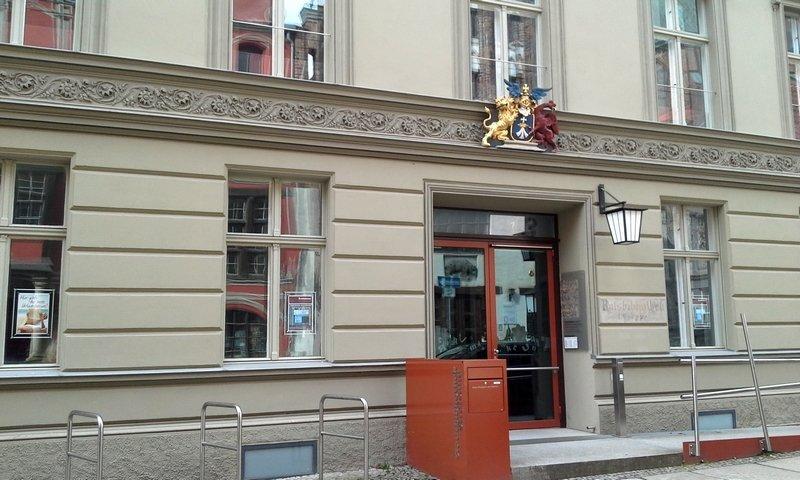 Stadtbibliothek Stralsund Foto: Birgit Berndt, freundlicherweise von der Künstlerin zur Verfügung gestellt