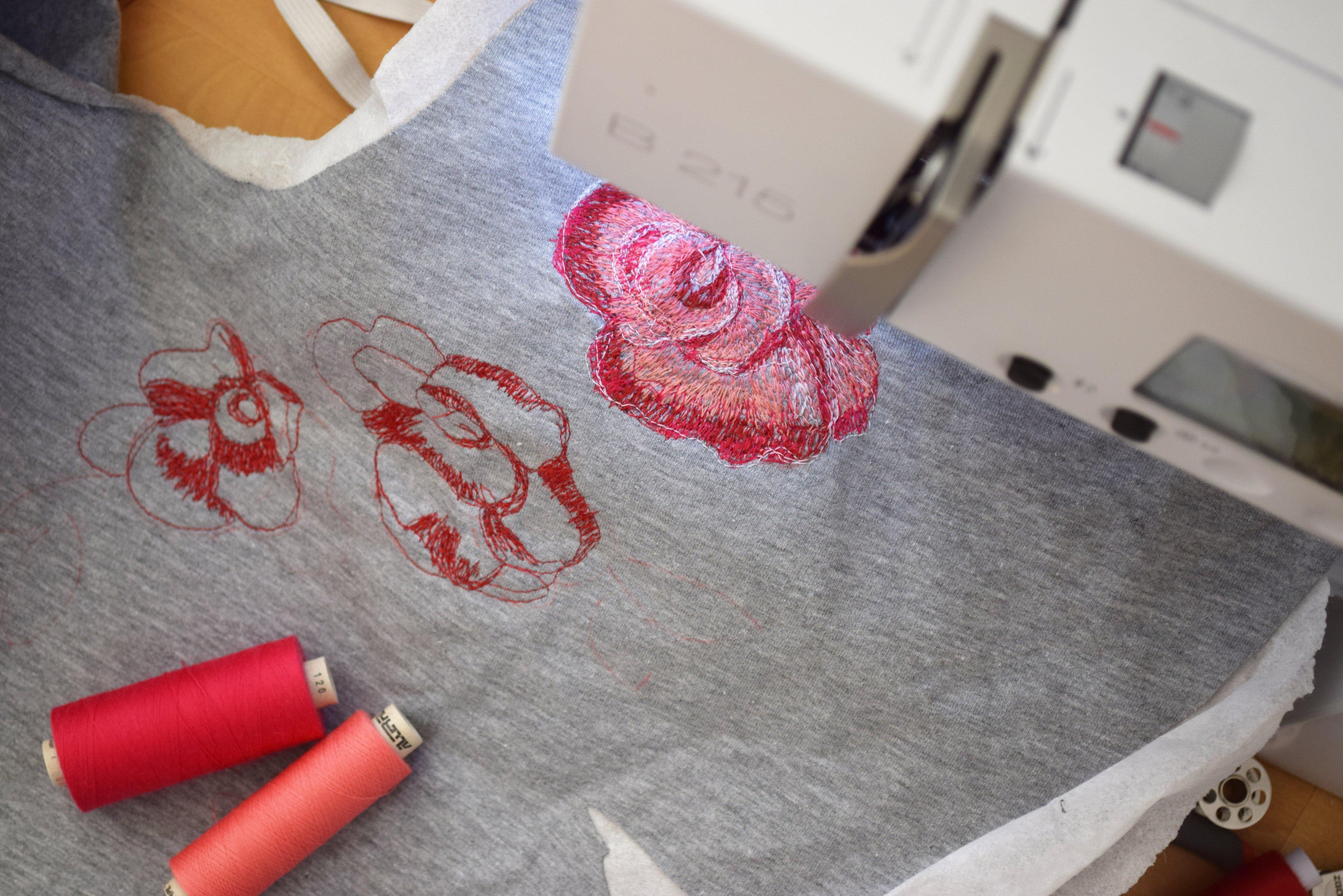 Malen mit der Nähmaschine » BERNINA Blog