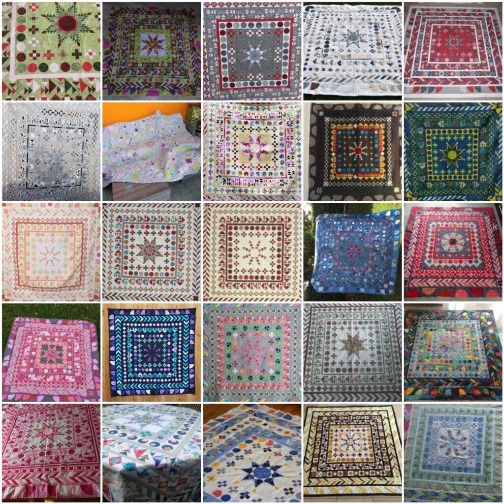 Mosaik 2 - BERNINA Medaillon Quilt Along