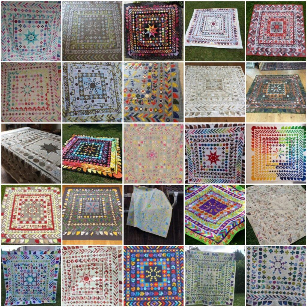 Mosaik 3 - BERNINA Medaillon Quilt Along