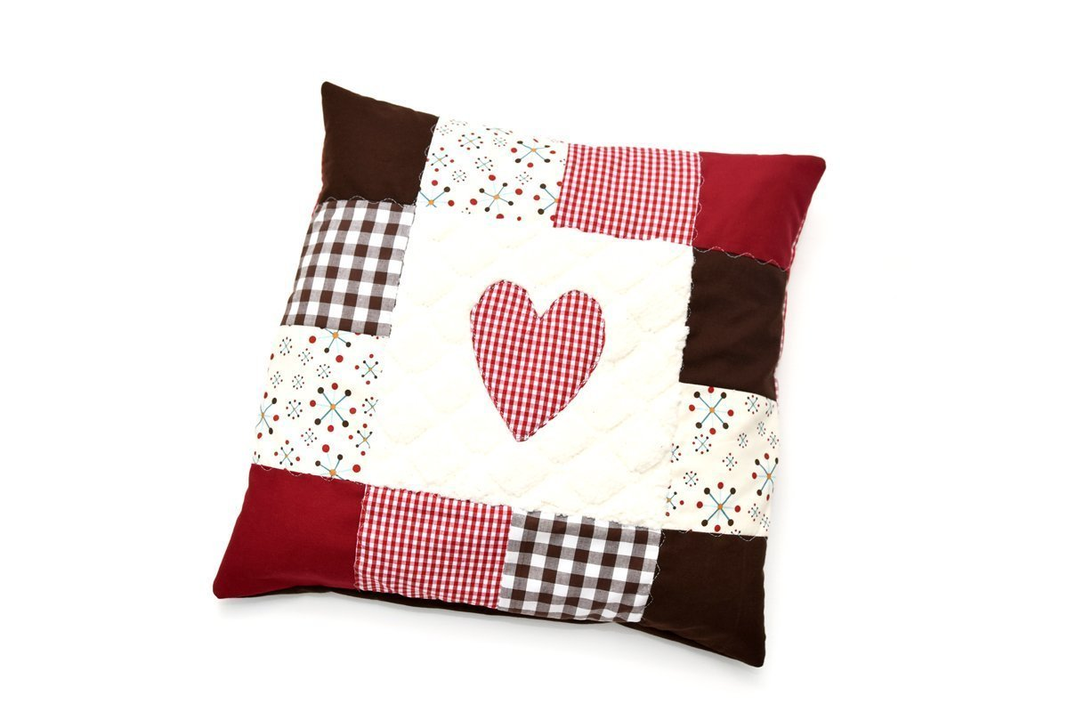 anleitung winterliche patchworkkissen n hen. Black Bedroom Furniture Sets. Home Design Ideas