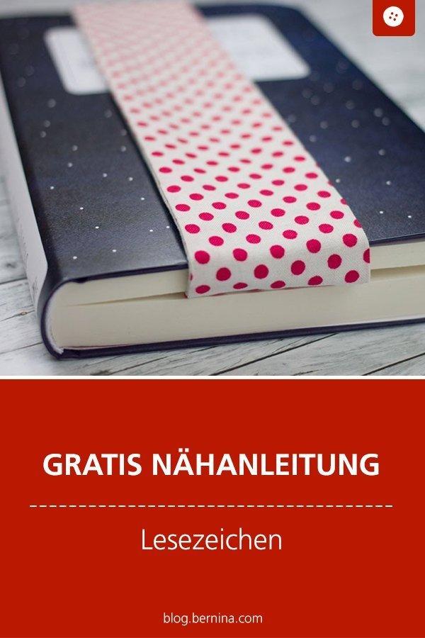 Kostenlose Nähanleitung : Lesezeichen #nähen #nähanleitung #nähenmachtglücklich #lesezeichen #stoffreste #bernina #diy #tutorial #freebie #freebook #kostenlos #nähenfürfrauen #nähenfürmich