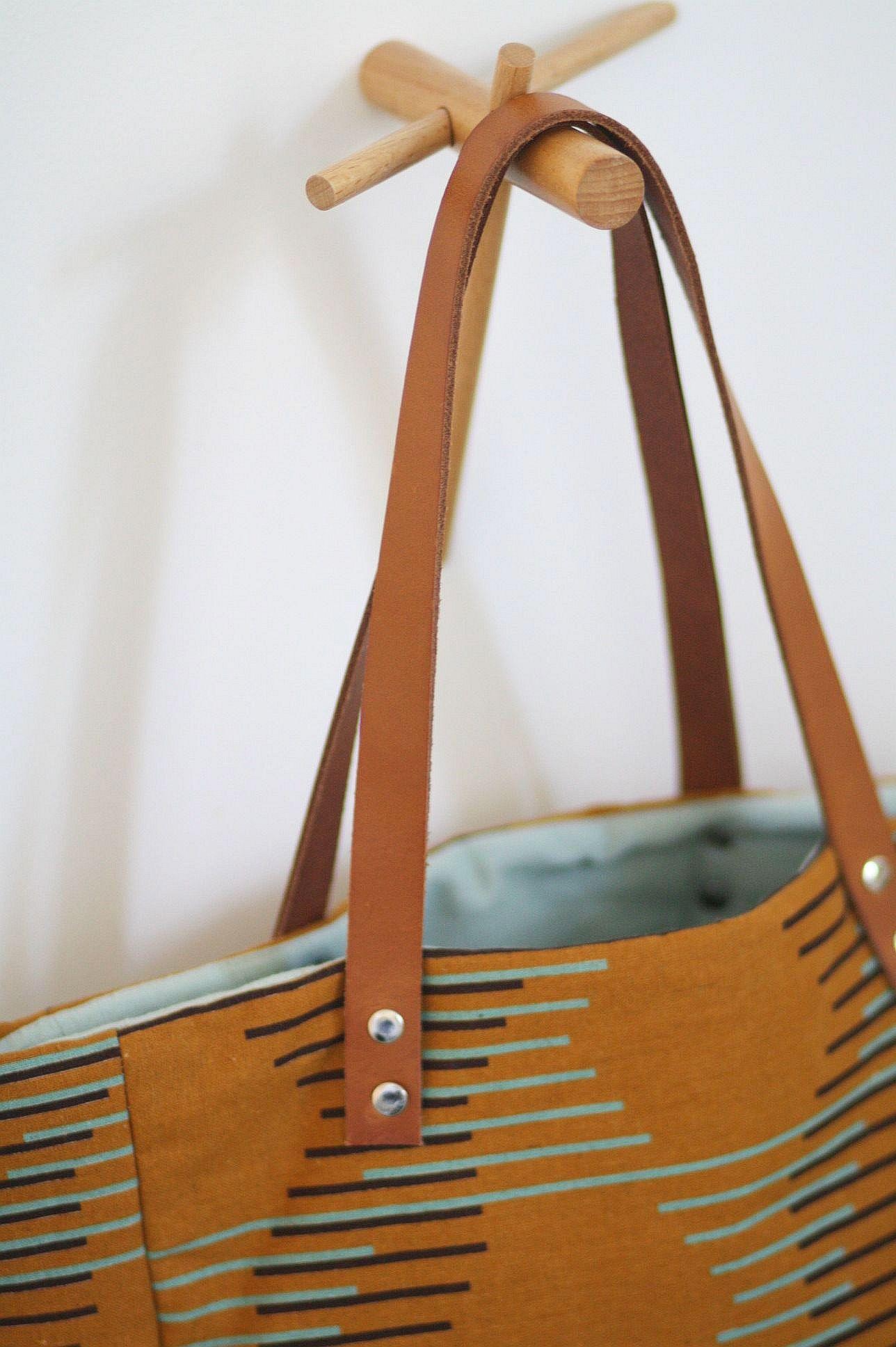 Tassen Nachwuchs : Tasche mit lederriemchen n?hen so geht s