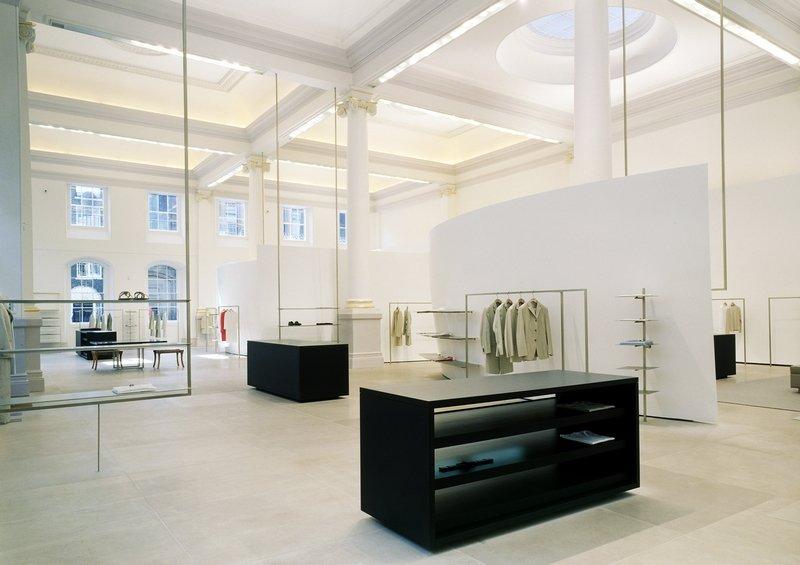 Jil Sander Flagship Store London, 2002 © Paul Warchol Foto freundlicherweise vom Museum zur Verfügung gestellt