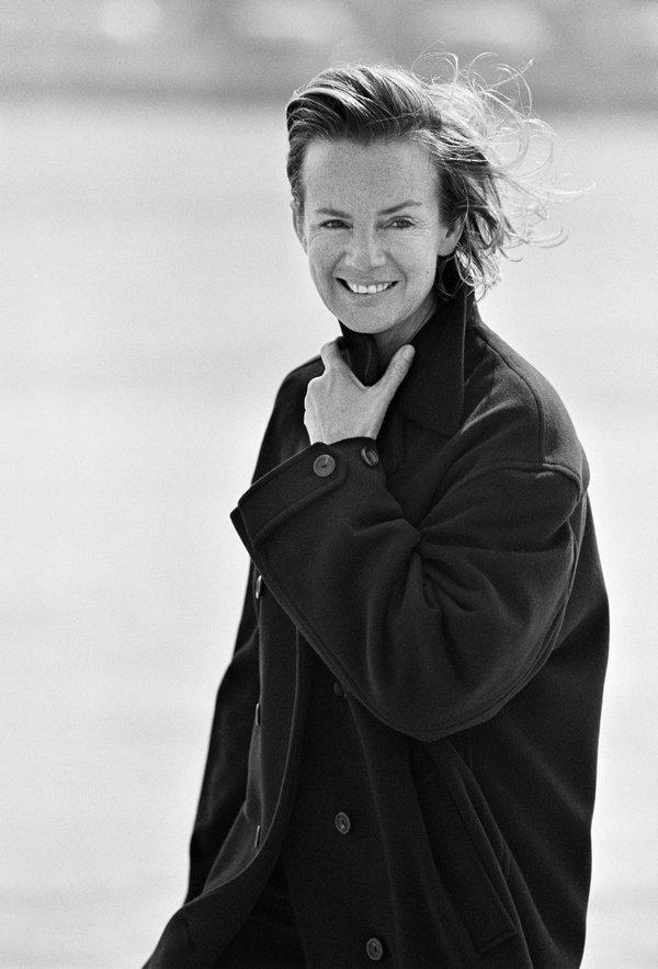 Portrait Jil Sander Marie Claire Germany, 1991 © Peter Lindbergh Foto freundlicherweise vom Museum zur Verfügung gestellt