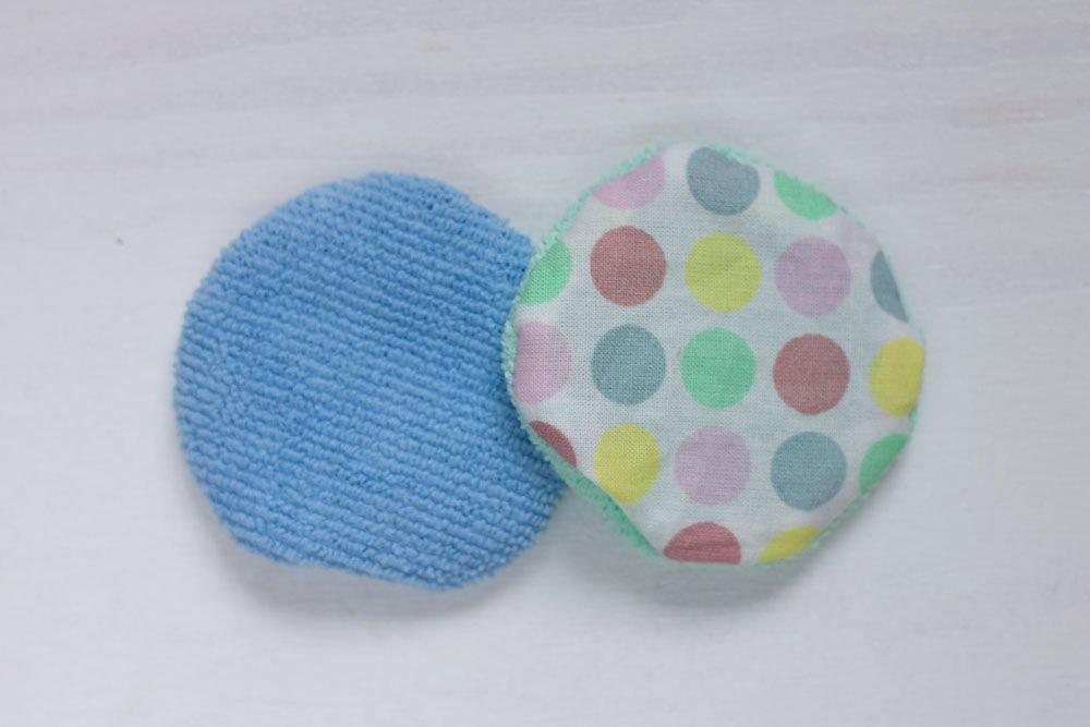 Runde Abschminkpads aus Baumwolle