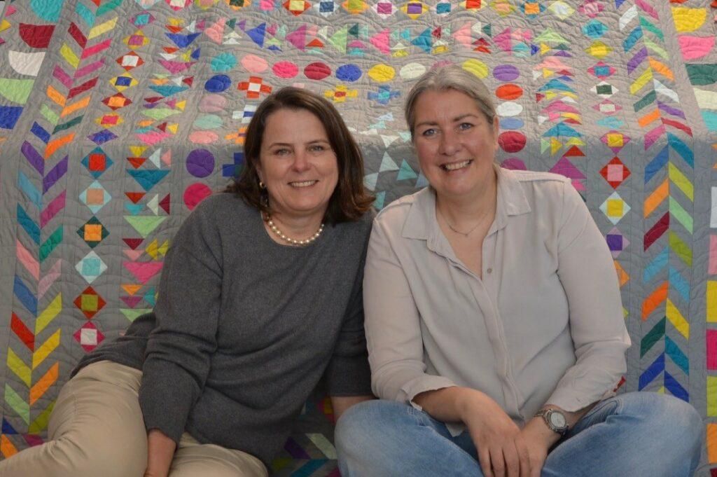 BERNINA Medaillon Quilt Along - Abschlussverlosung - Andrea Kollath - Dorthe Niemann