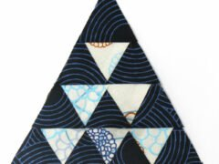 Triangle Quilt Along bernina-zenchic-qal-block-8