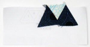 Triangle Quilt Along bernina-zenchic-qal-block-8