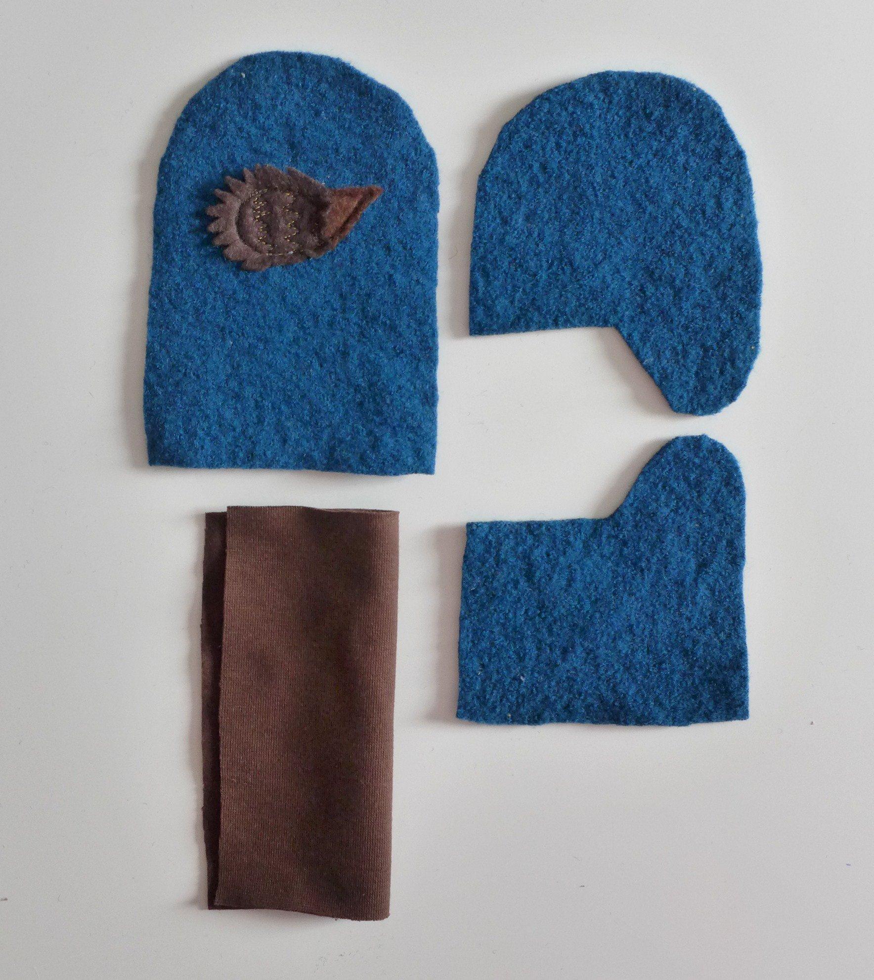 Handschuhe für Groß und Klein nähen - mit Link zum Schnittmuster