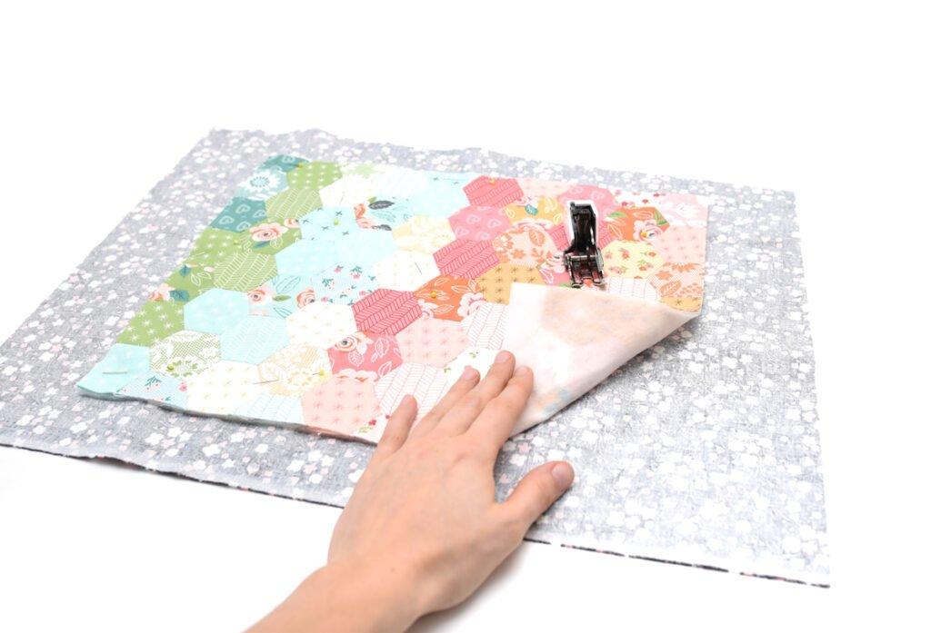 Ein kleines Quiltprojekt für die Tage zwischen den Jahren