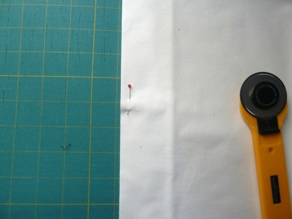 Patchworken für Anfänger: Waschen und schneiden