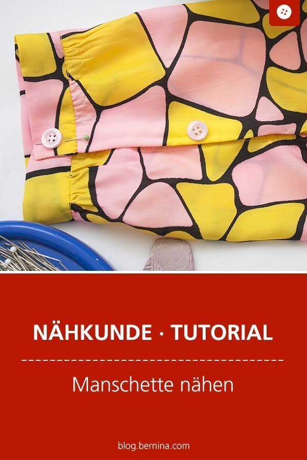 Nähkunde / Tutorials: Manschette an einem Hemdsärmel nähen  #ärmel #manschette #kleidungnähen #nähen #tutorial #nähanleitung #diy #bernina #freebie #freebook