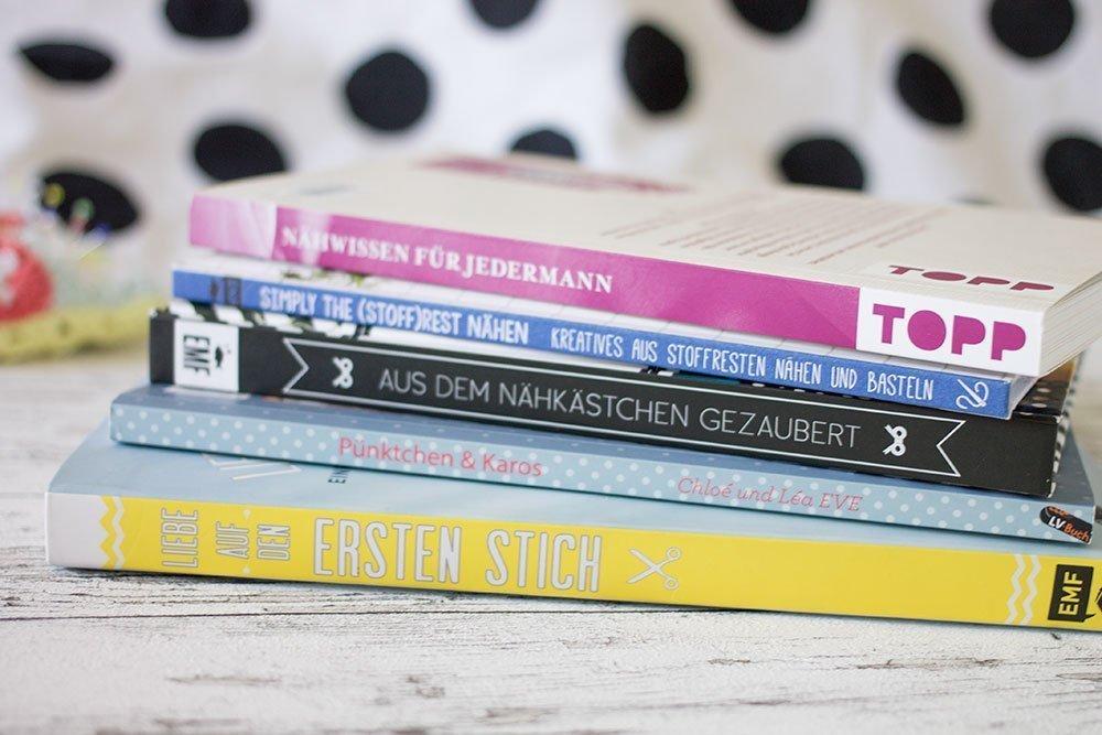Nähen für Einsteiger - meine fünf Lieblings-Bücher