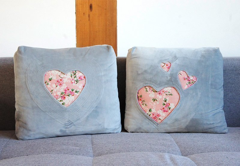 Kissen mit Herzfenster nähen » BERNINA Blog