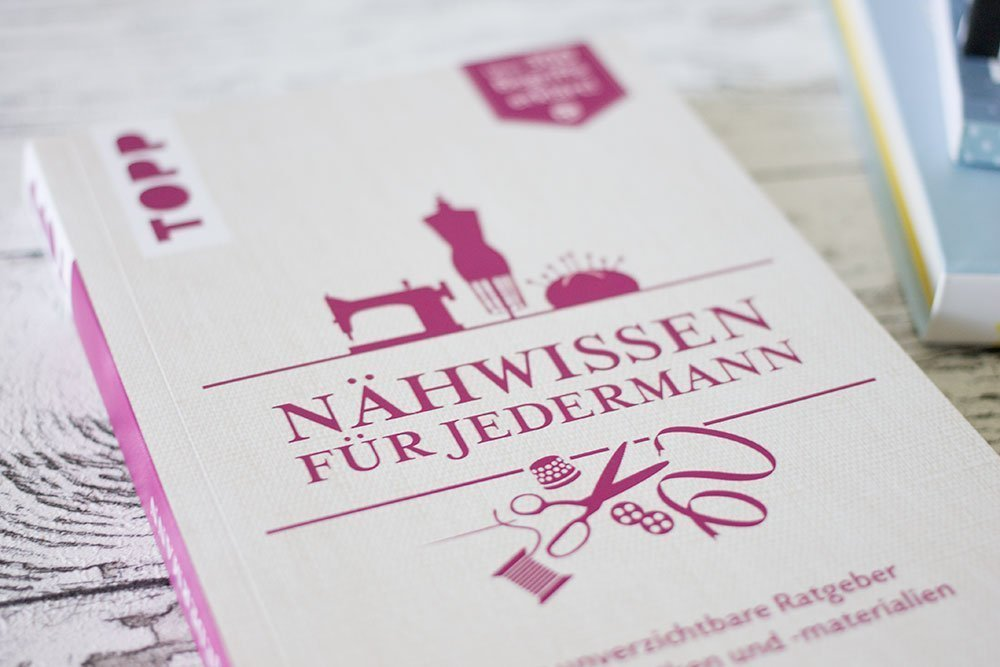 """Das Buch """"Nähwissen für Jedermann"""""""