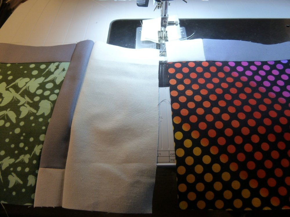 Quilt-as-you-go-Methode