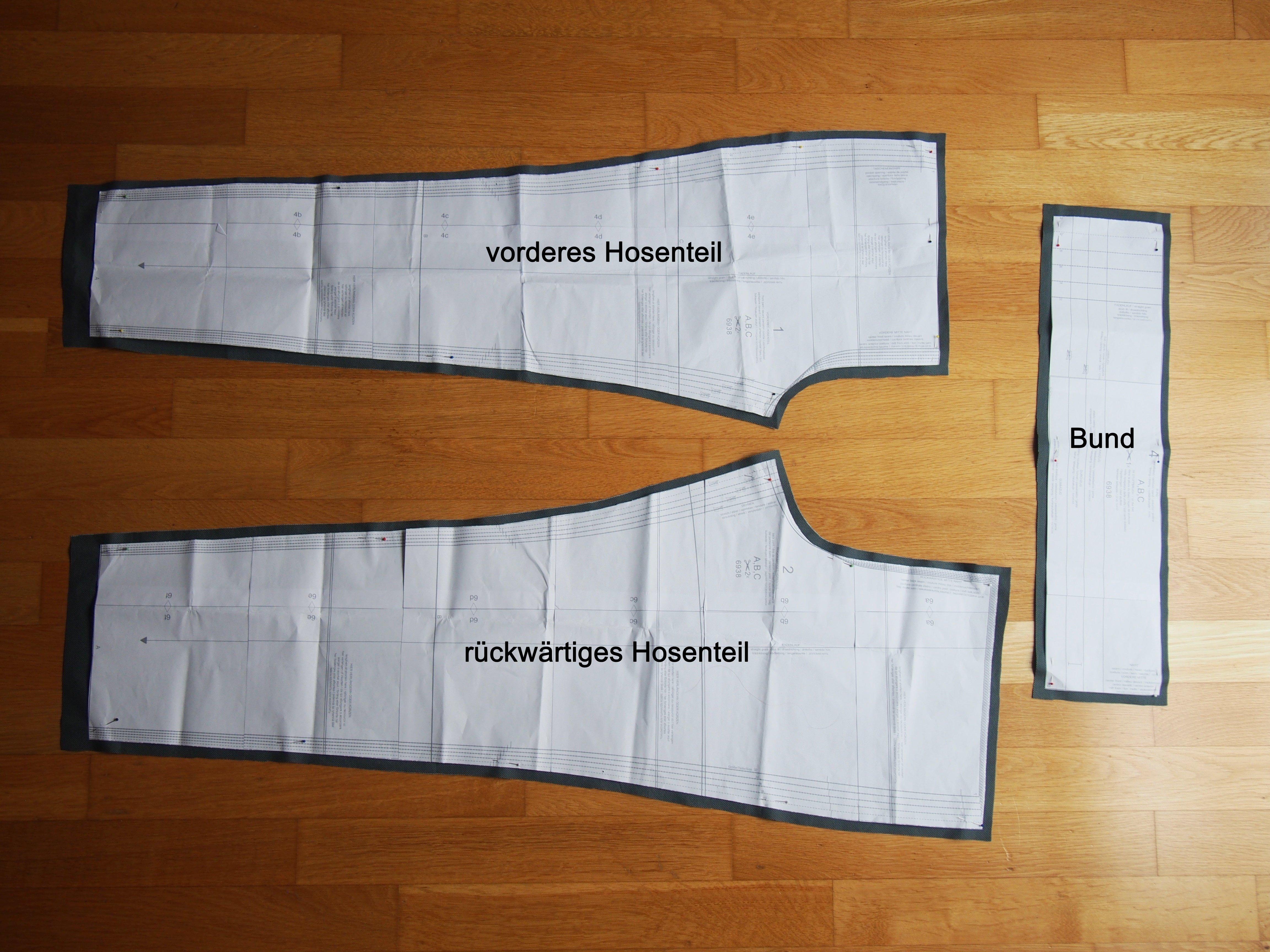 Nähanleitung: So näht Ihr eine einfache Hose mit Gummibund