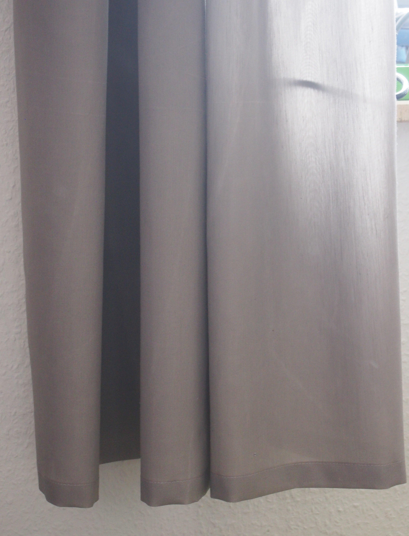 Vorhang Aufhängen vorhang kürzen nähanleitung fürs kürzen eines gekauften fertigen