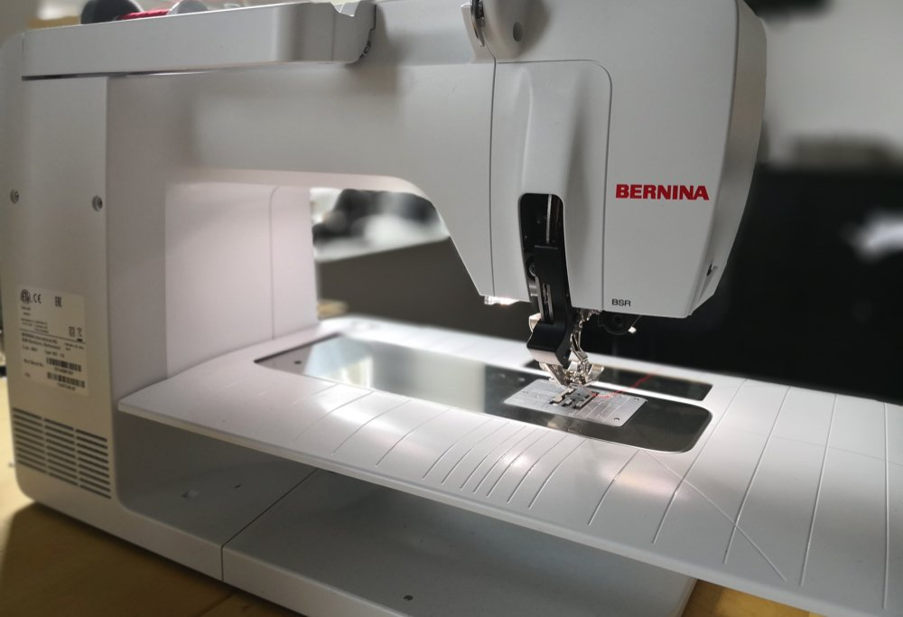 Bernina 570 QE 2018 ohne Nähfußhebel