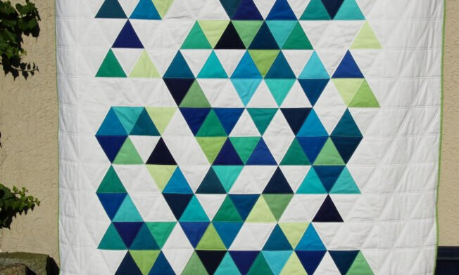 Blaustern_Triangle Quilt_1