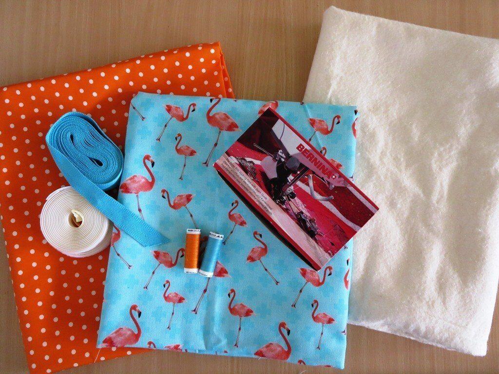 Nähanleitung Picknickdecke: Materialübersicht