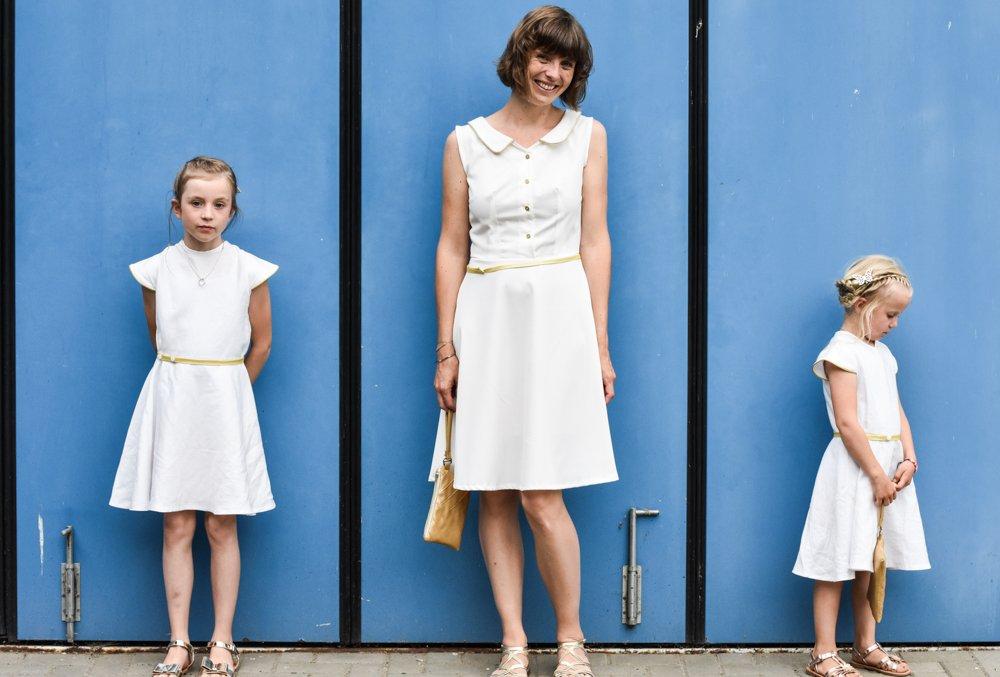 Goldenes Hochzeitsfeier Outfit Zum 125 Jahrigen Jubilaum Von Bernina