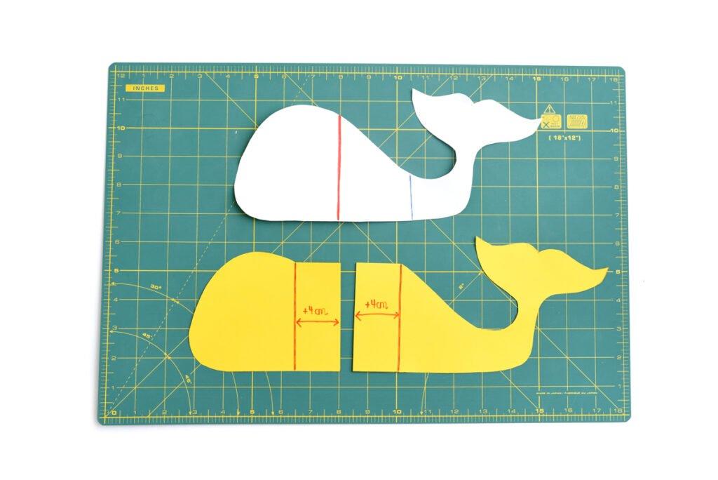 Maritime Babygeschenke - Kirschkernkissen Wal