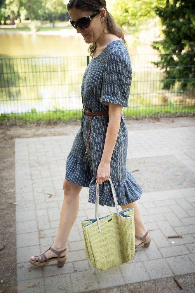 Kleid aus Viskose nähen