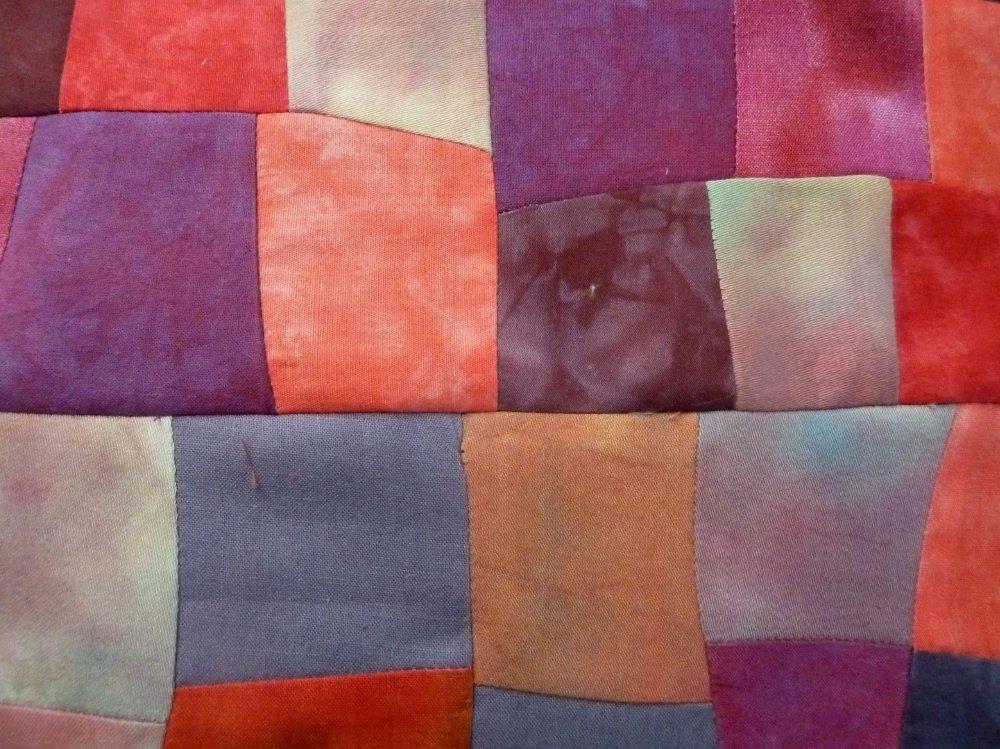 Frei nach Hundertwasser: Fenster und Türen nähen