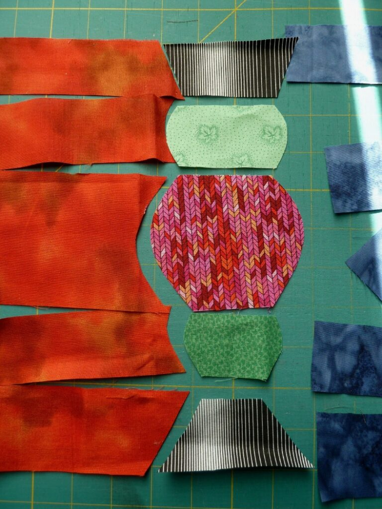 Hundertwasser-Säulen nähen